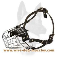 Medium Wire Basket Dog Muzzle for Medium Sized Breeds