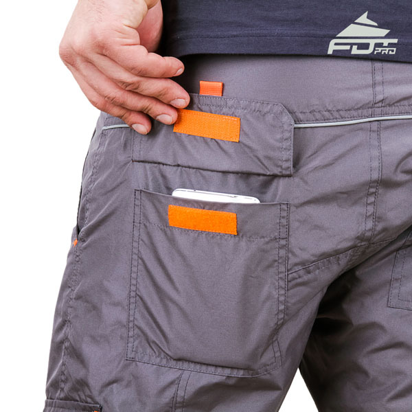 Comfy Design FDT Pro Pants with Handy Side Pockets for Dog Training