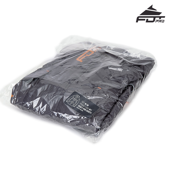 FDT Pro Dog Tracking Jacket with Durable Velcro Fastening