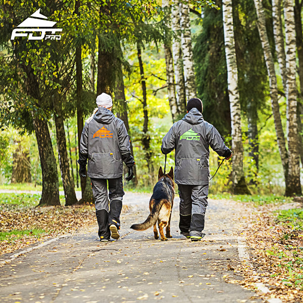 Pro Dog Trainer Jacket of Finest Quality for Everyday Use