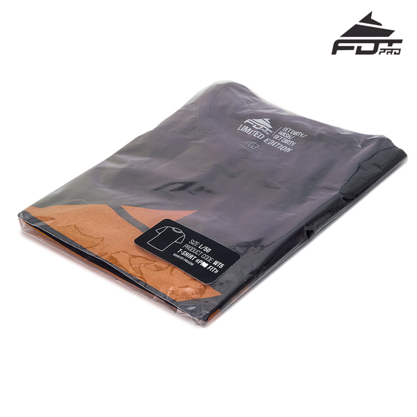 Packed Professional Design T-shirt Dark Grey