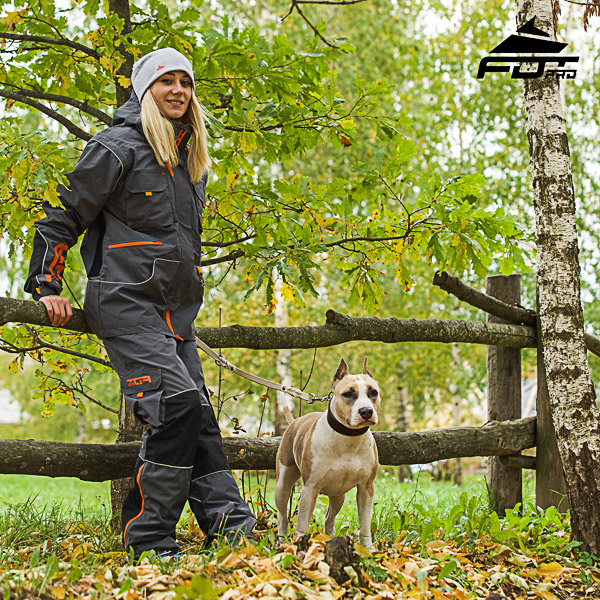 Men / Women Design Active Dog Trainers Pro Pants with Back Pockets