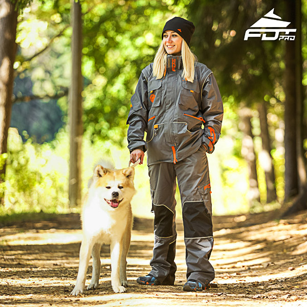 Unisex Design Dog Tracking Jacket of Top Notch Materials