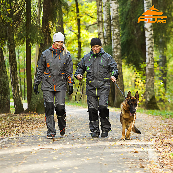 Any Weather Reliable Dog Training Suit for Men and Women
