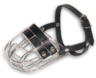 Small Wire Cage Dog Muzzle For Small Breeds-Small Basket Muizzle
