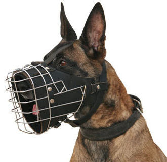 Wire Dog Muzzle for Attack and Agitation