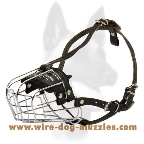 Strong Wire Dog Muzzle